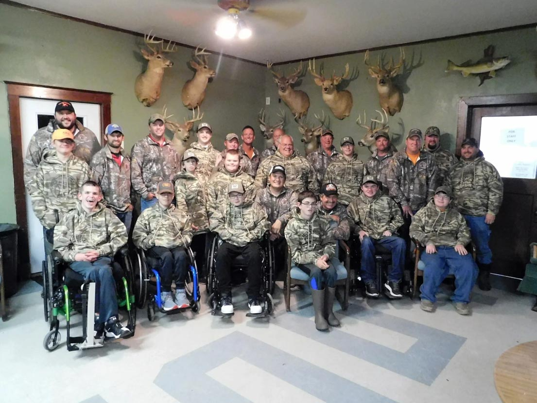 PDR Youth hunt participants