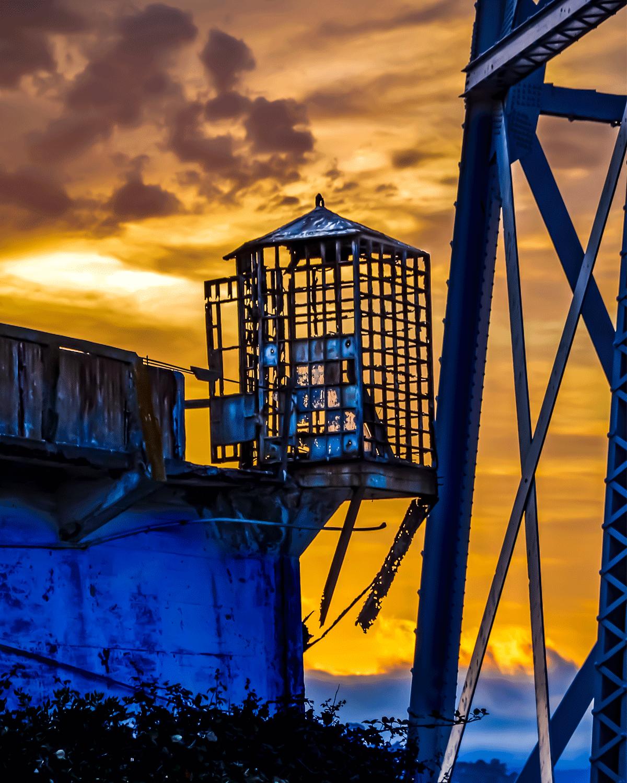 Alcatraz the cage