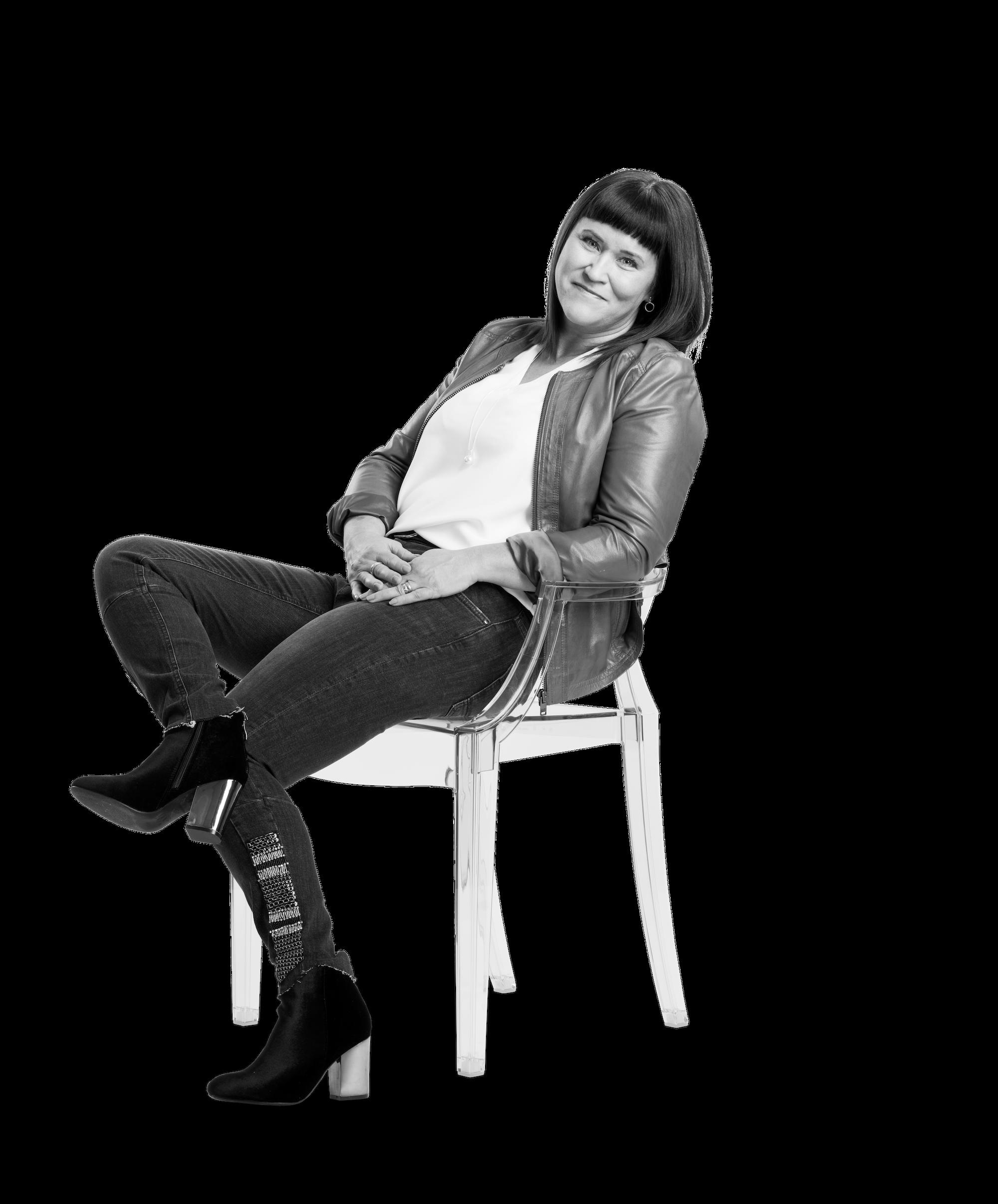 Anna Pojen, VD och kommunikationsstrateg på The Tribe Lounge.
