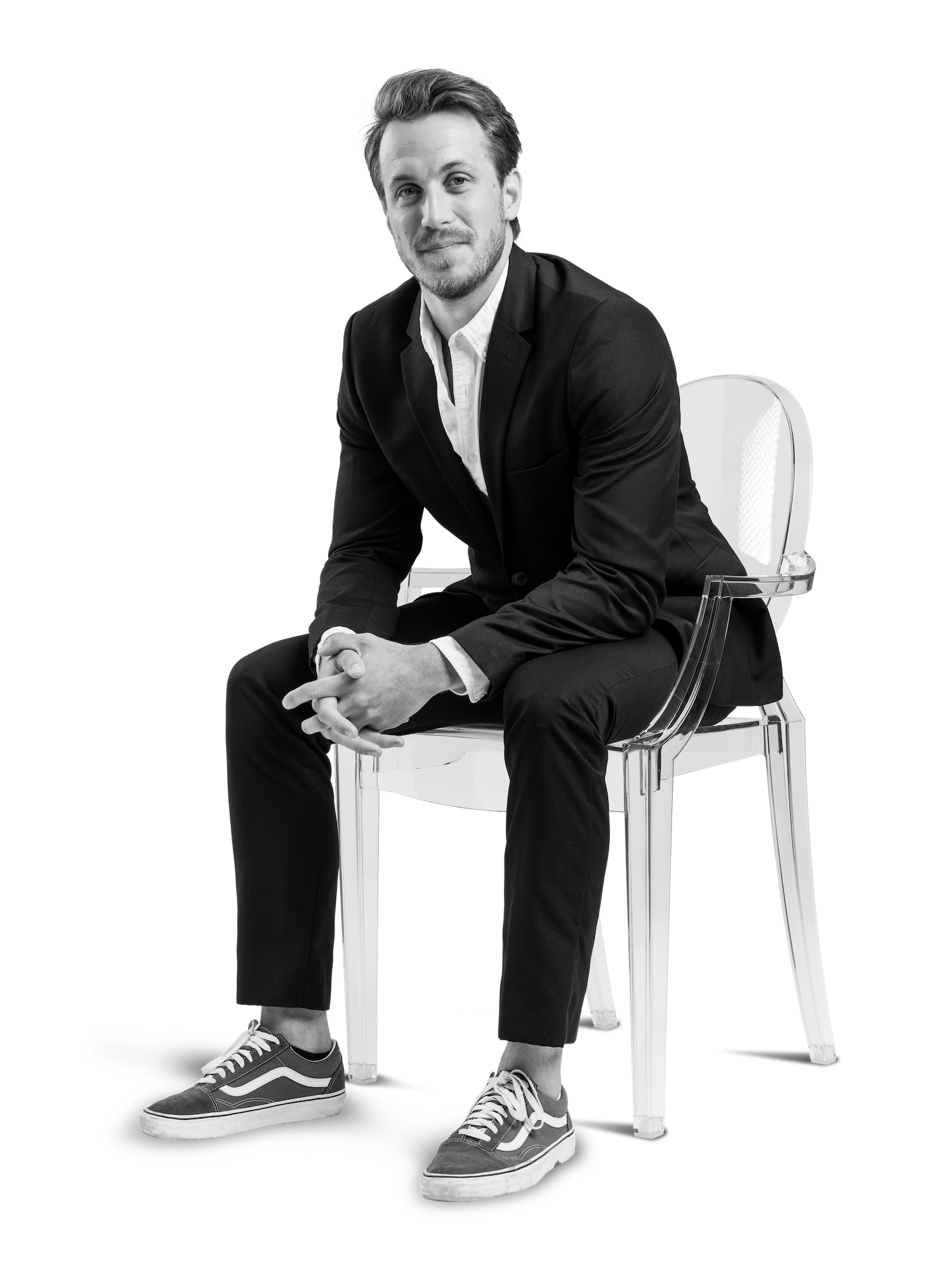 Albin Sandh, kommunikatör och designer på The Tribe Lounge.