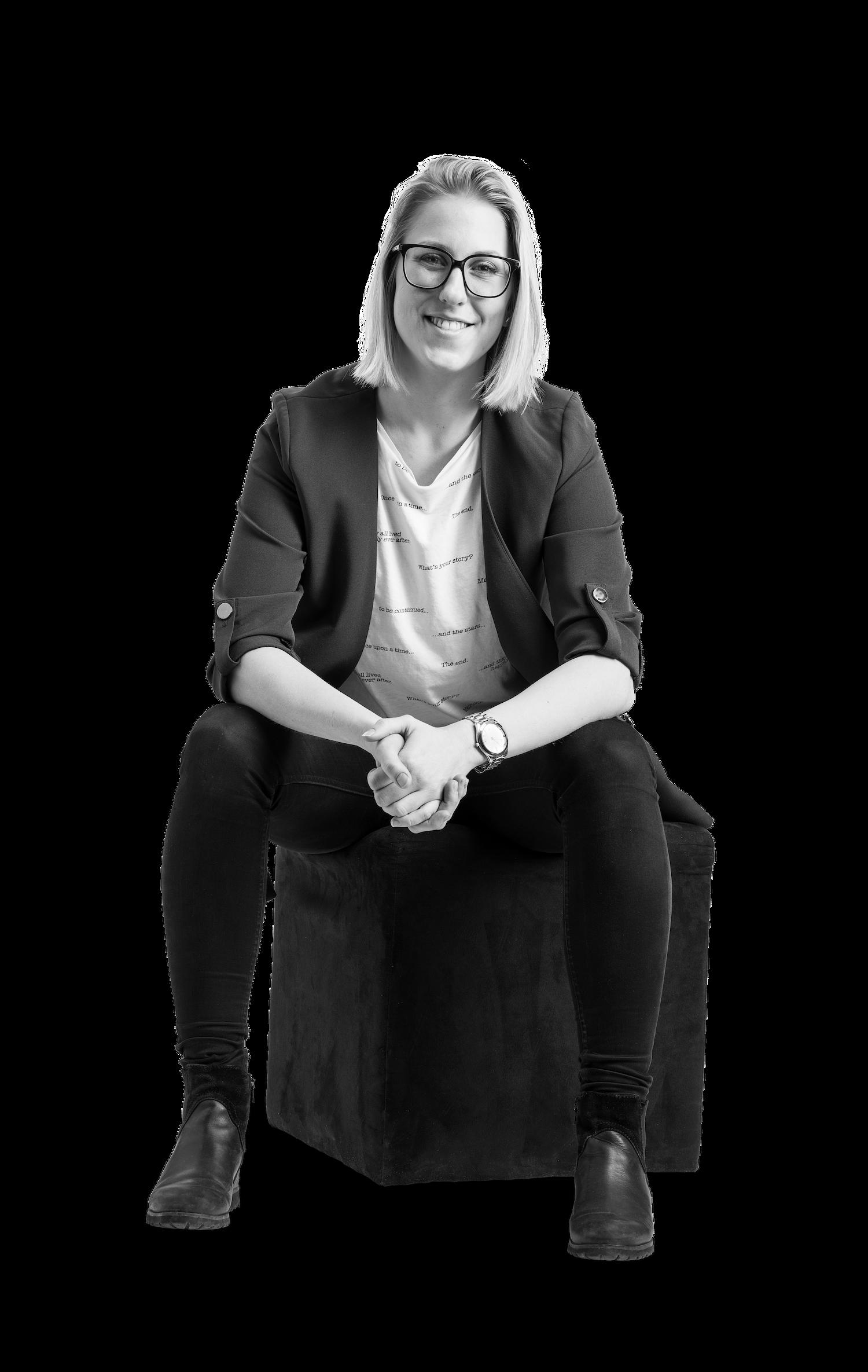 Malin Karlsson, digital kommunikatör på The Tribe Lounge.
