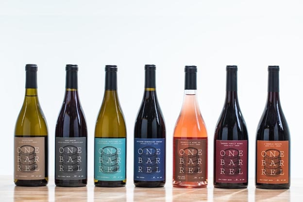 A collection of wines from One Barrel Challenge