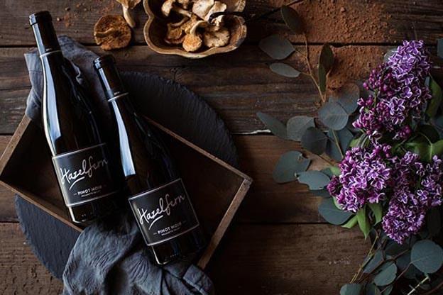 Two wines from Hazelfern Cellars