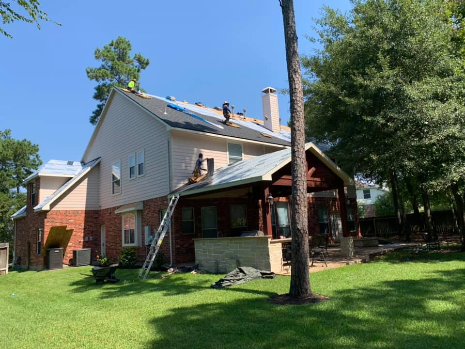 remodeling roof image roofing