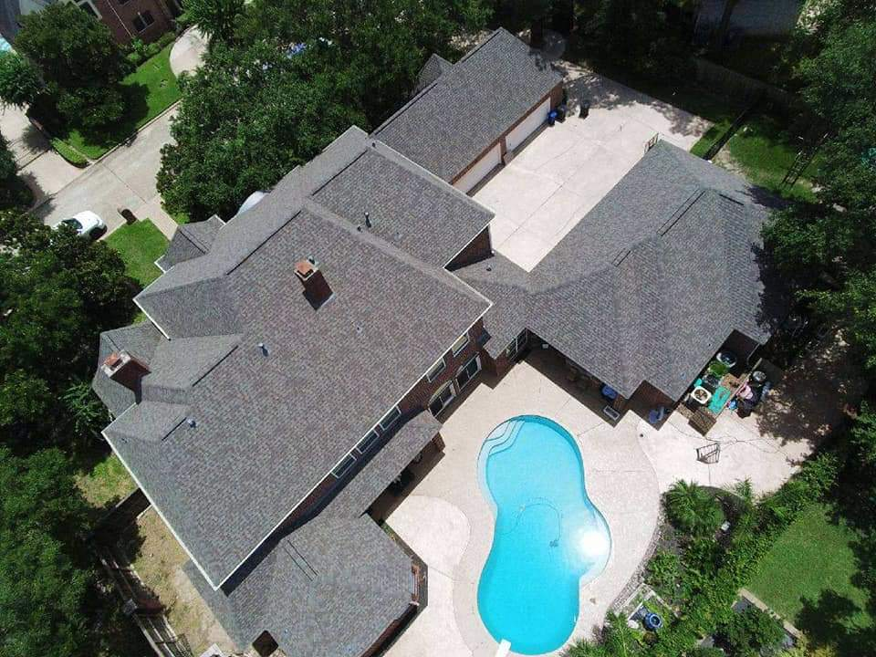 new roof in the woodlands texas