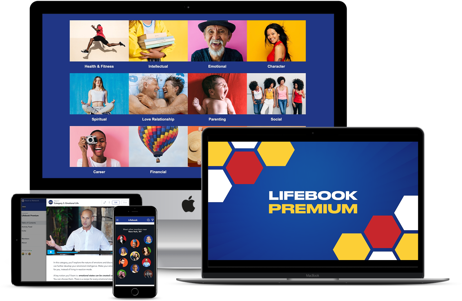The Lifebook System on all devices