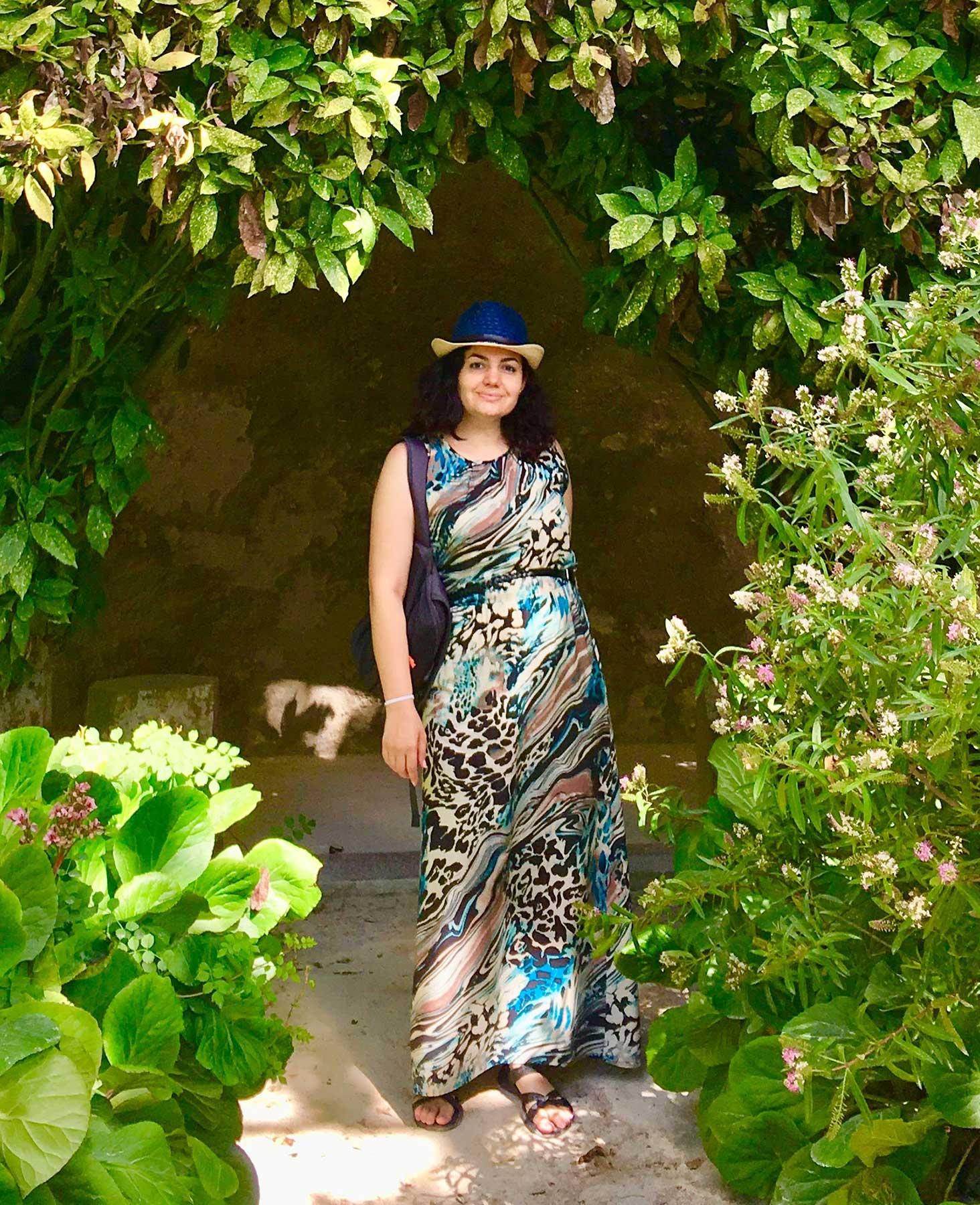 Anna Kelian standing in nature