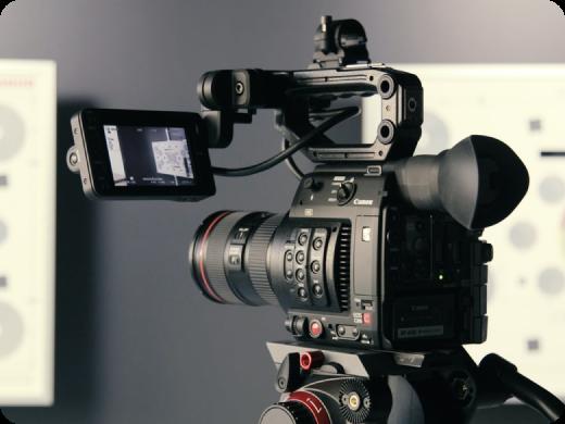 cámara grabación
