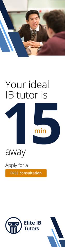 Elite IB Tutors consultation call advert