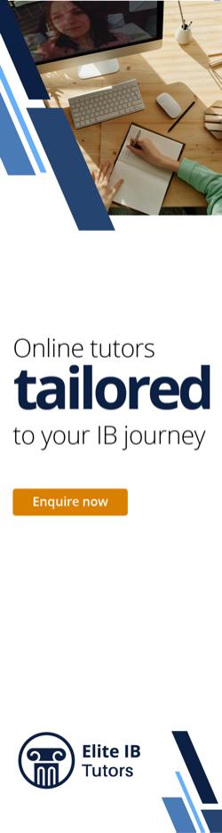 Elite IB Tuition advert