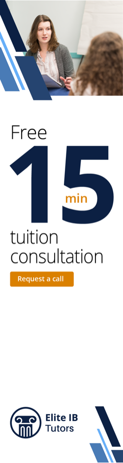 Elite IB Tutors consultation advert 2