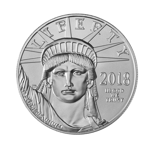 2018 silver coin from the U.S. mint