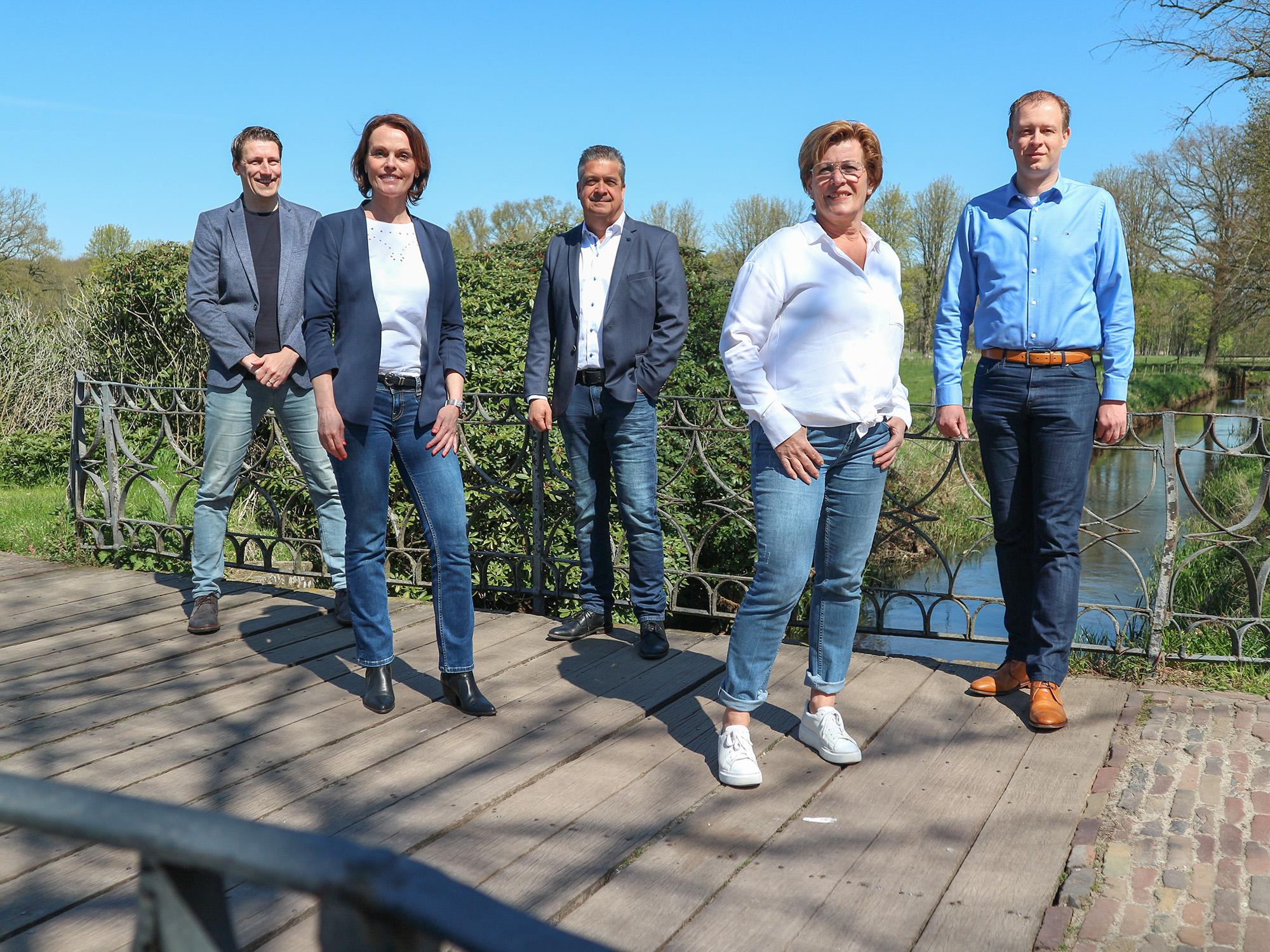 Groepsfoto medewerkers Finturo