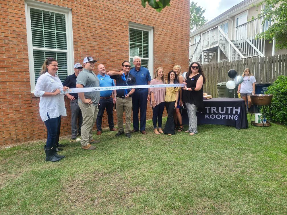 The team of Truth Roofing in Augusta.