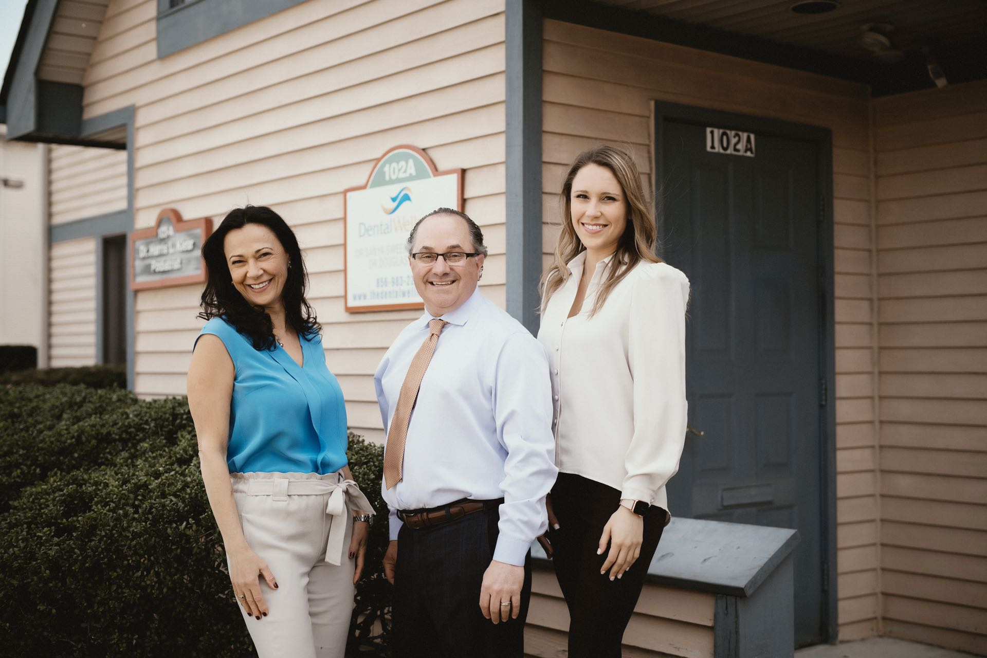 Photo of the dentists at Dental Wellness in Riverton and Marlton New Jersey
