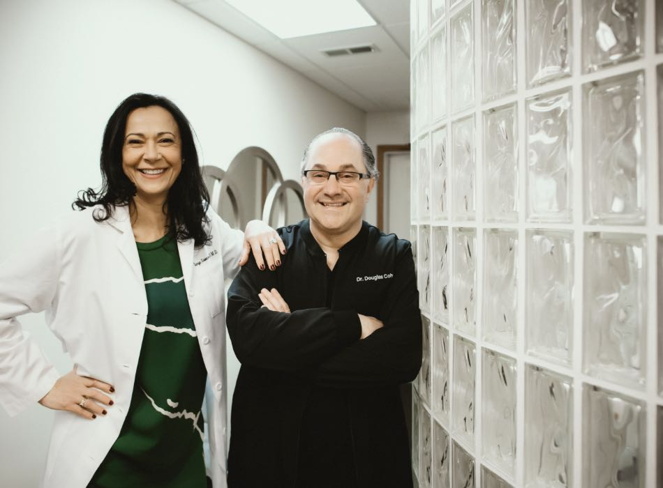 Photo of Marlton and Riverton dentists, Dr. Sweeny-Fonesca and Dr. Douglas Cohen