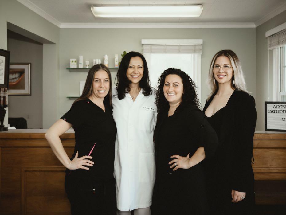 Photo of our Marlton dental team