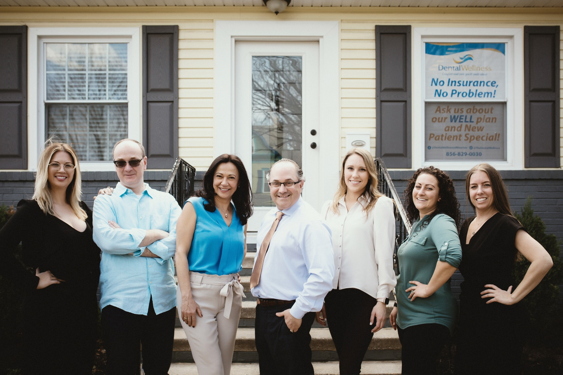 Photo of our Marlton, New Jersey dental team