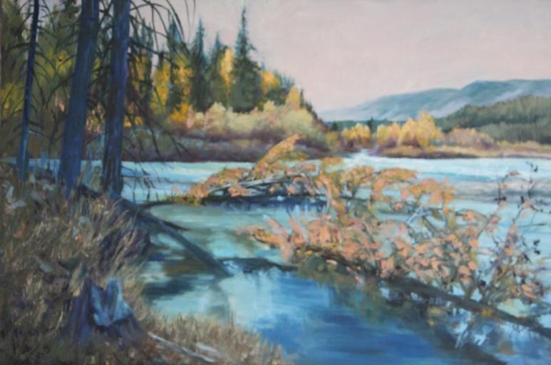 Creek Near Radium