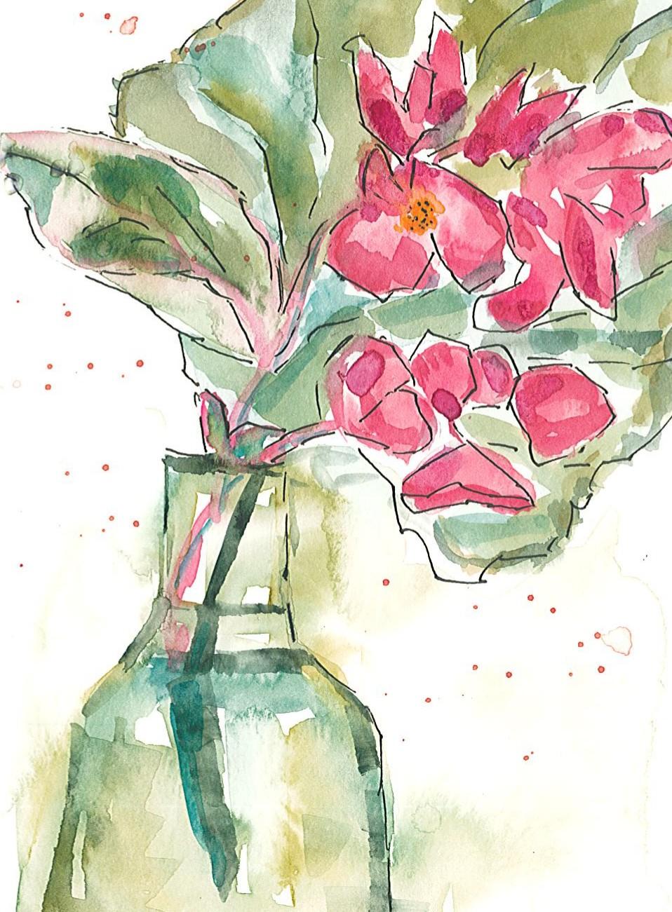 Begonia Sketch