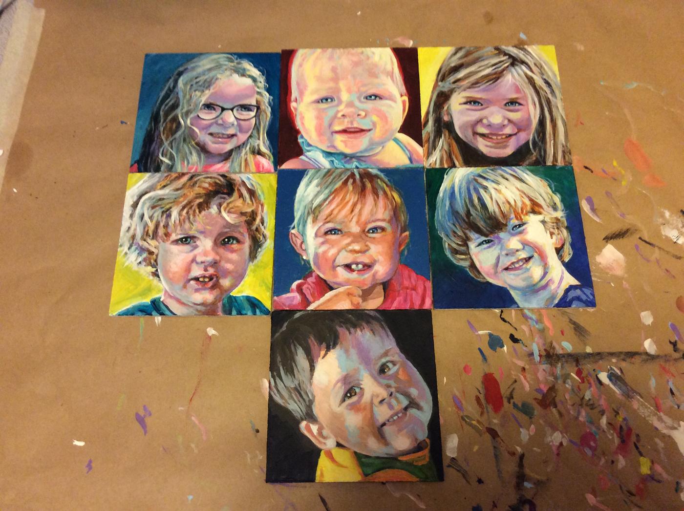 Children's Portraits - commissions