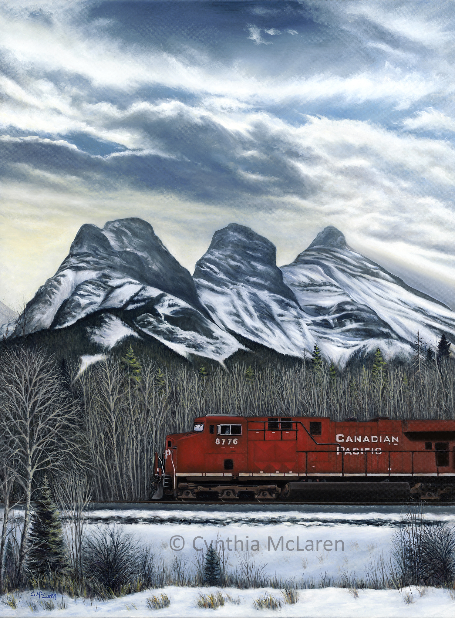 Canadian Pacific Train 8776