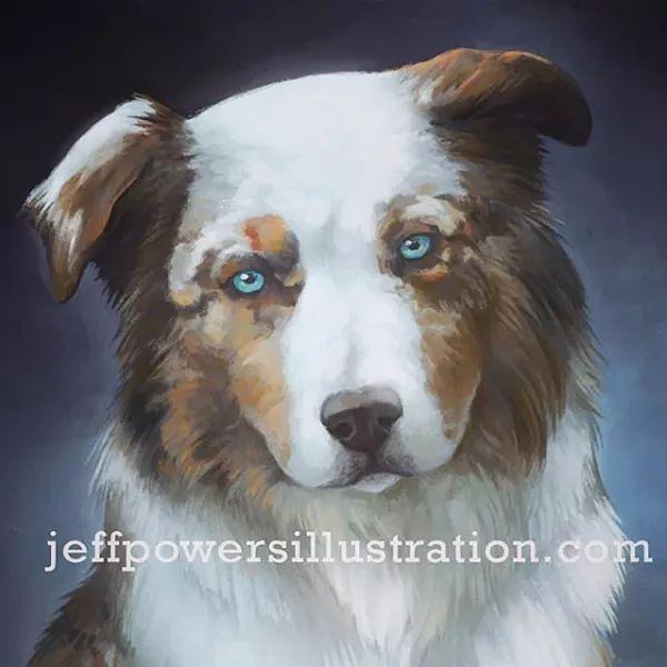 Per Portrait Painting Comission