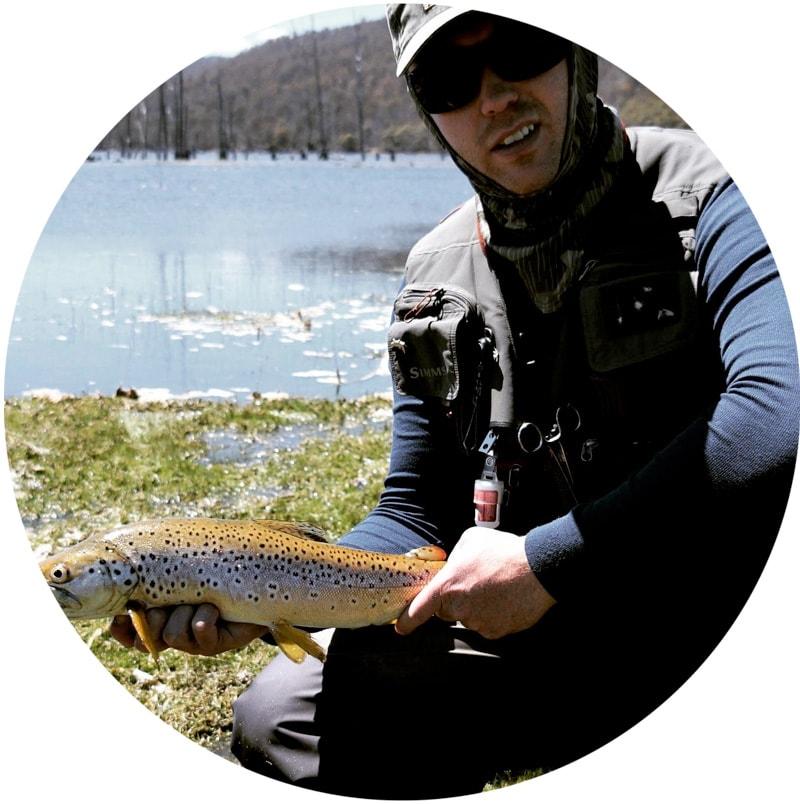 image of matt holding fish