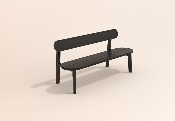 OA - Outdoor furniture bench, Lumber