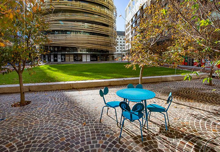 OA darling Square Blue Furniture