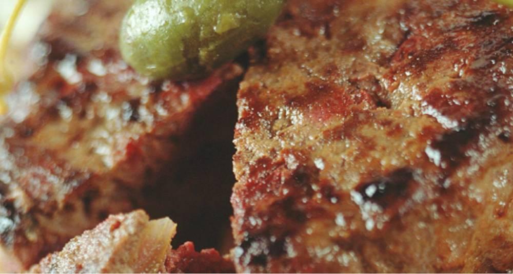 Grov burger à la Lindström
