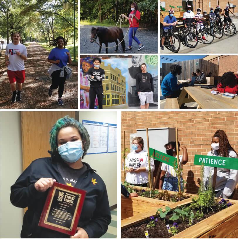 WSSS School Photo Collage