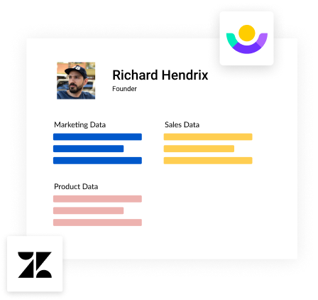 Illustration for customer data