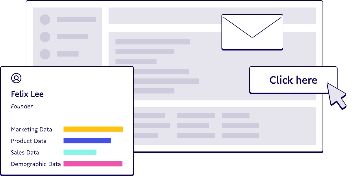 Illustration of email segmentation.