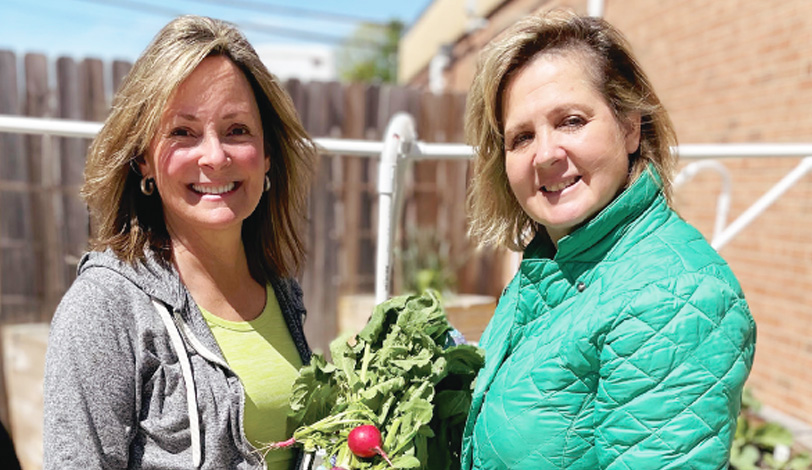 Volunteer Gardening Photo