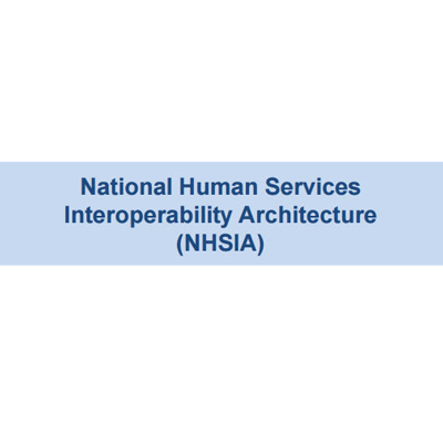 National Human Services Interoperability Architecture