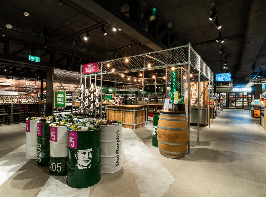 """Dan Murphy's unveils its new-look stores with """"magic moments"""" and digital labels"""