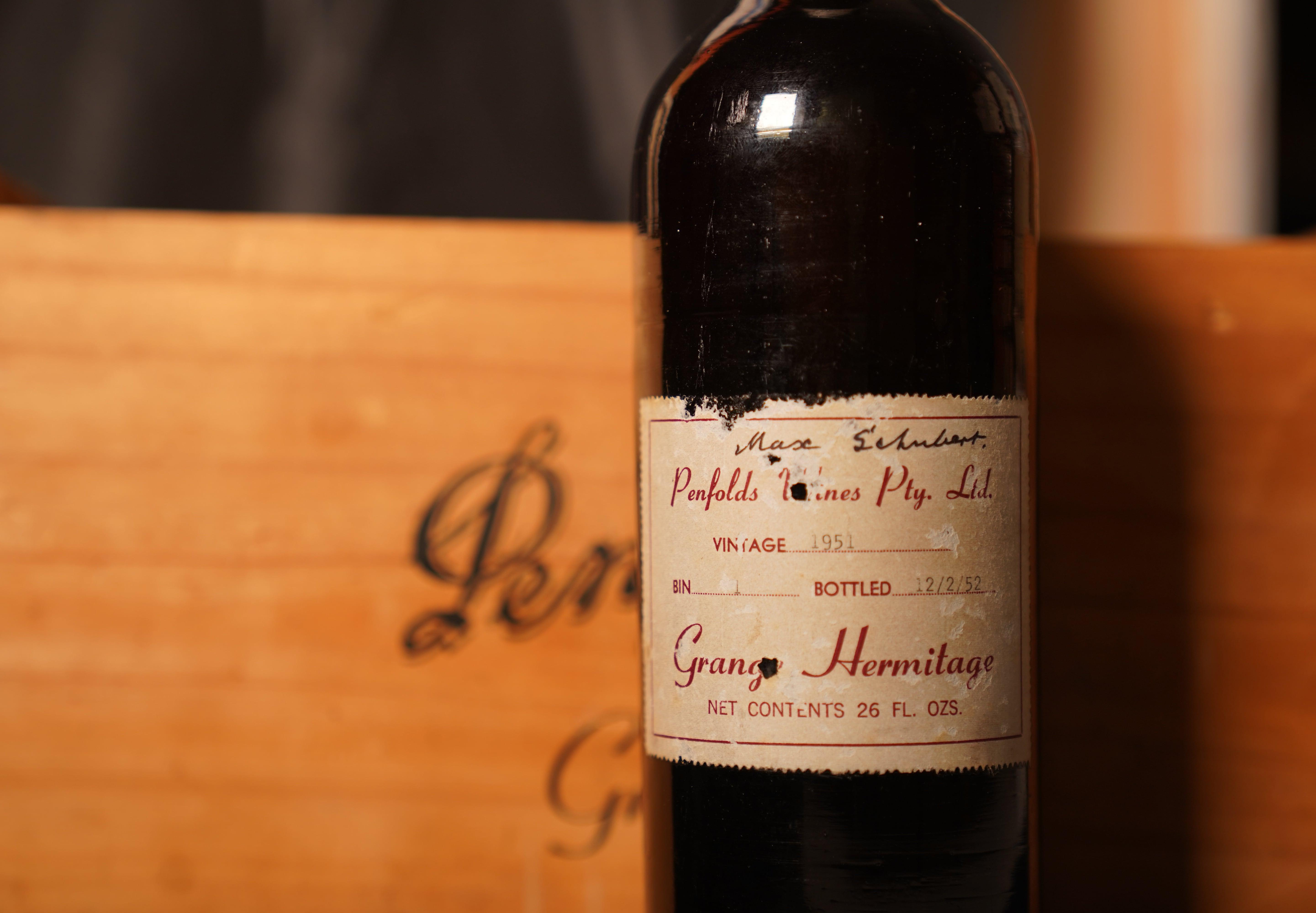 Single bottle of Penfolds Grange 1951 sells for world record $142,131