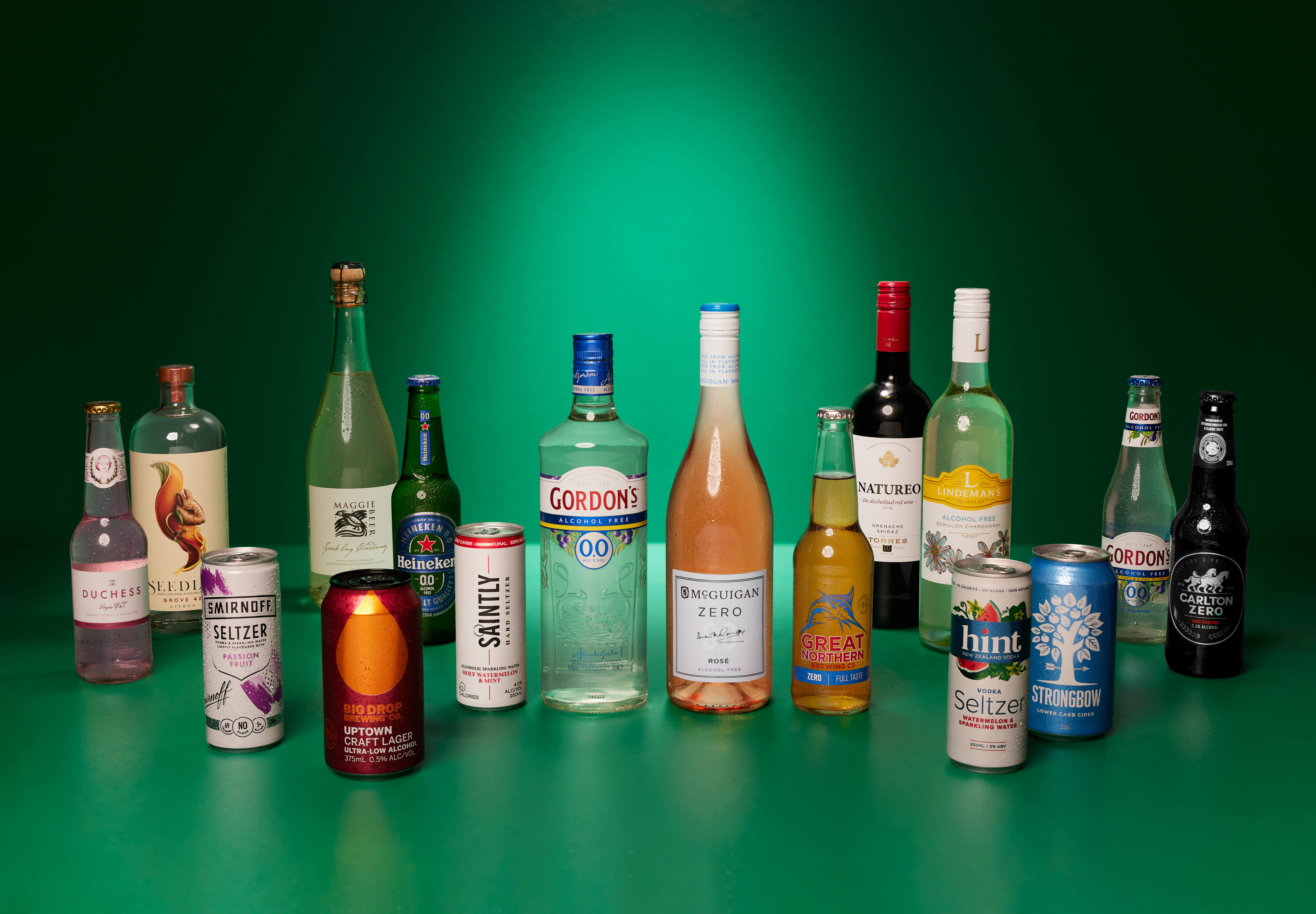Non-alcoholic drinks sales skyrocket as Australians look to drink less but better