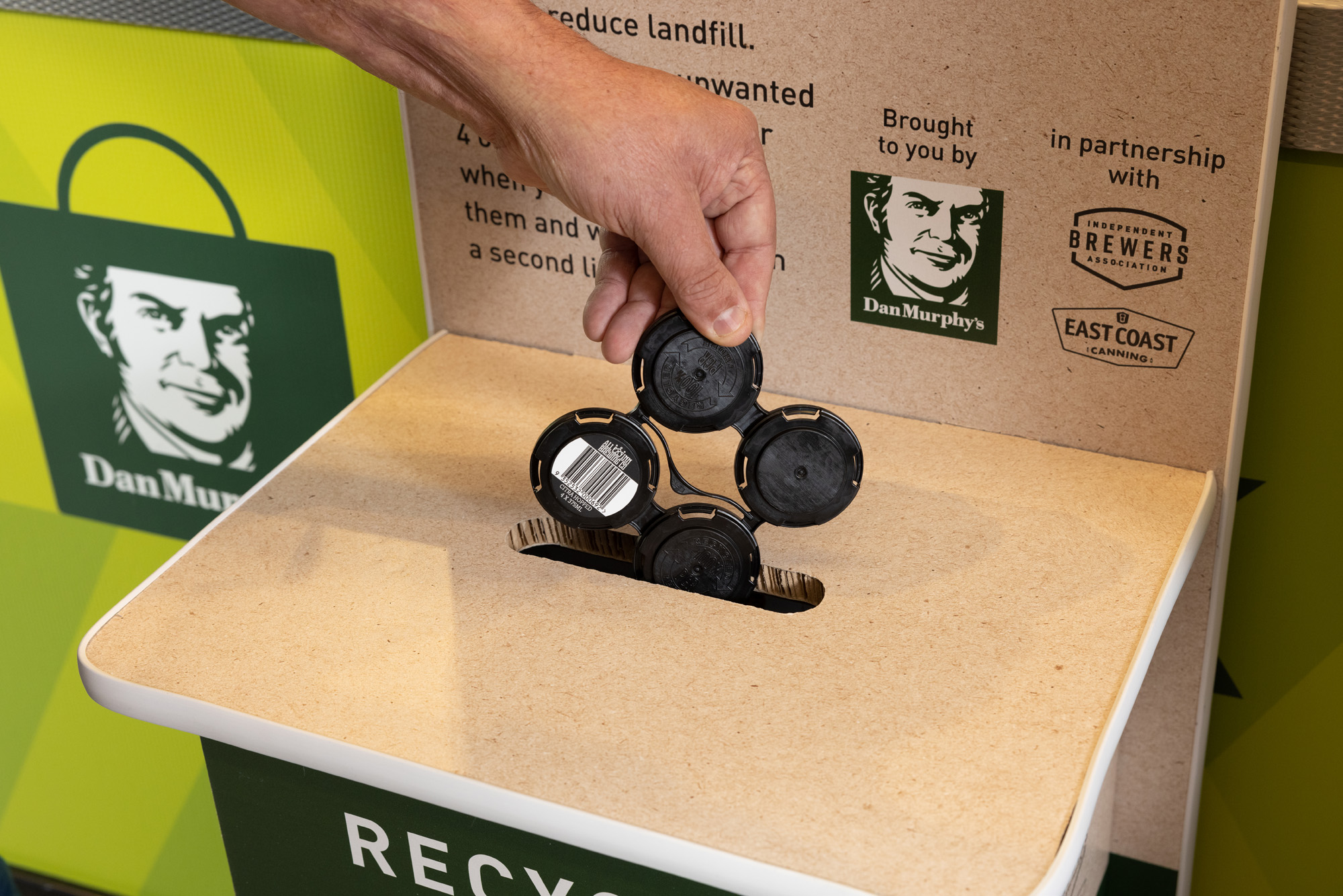 Endeavour Group launches an Australian-  first recycling initiative.
