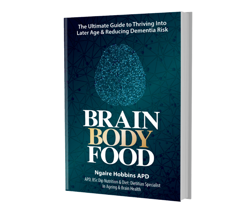 image of brain body food book