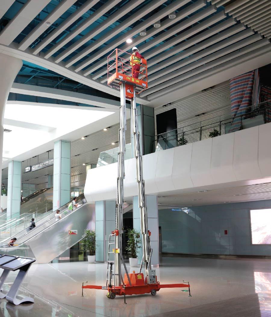 Extended vertical lift