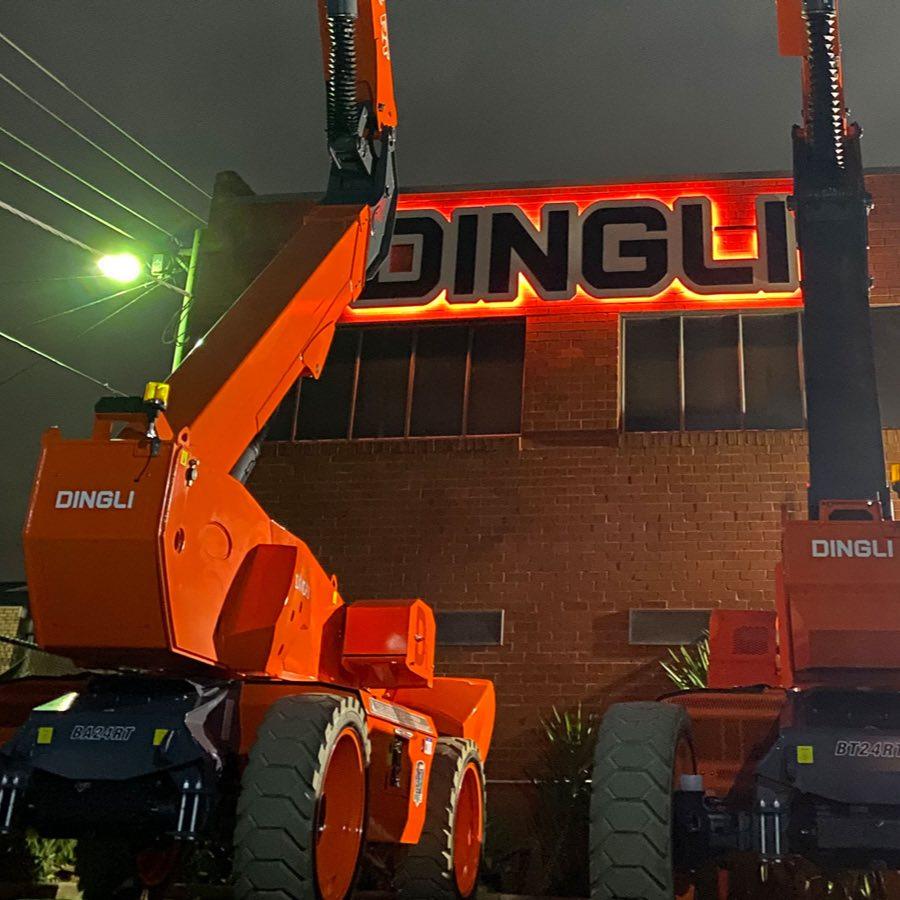 dingli boom lifts