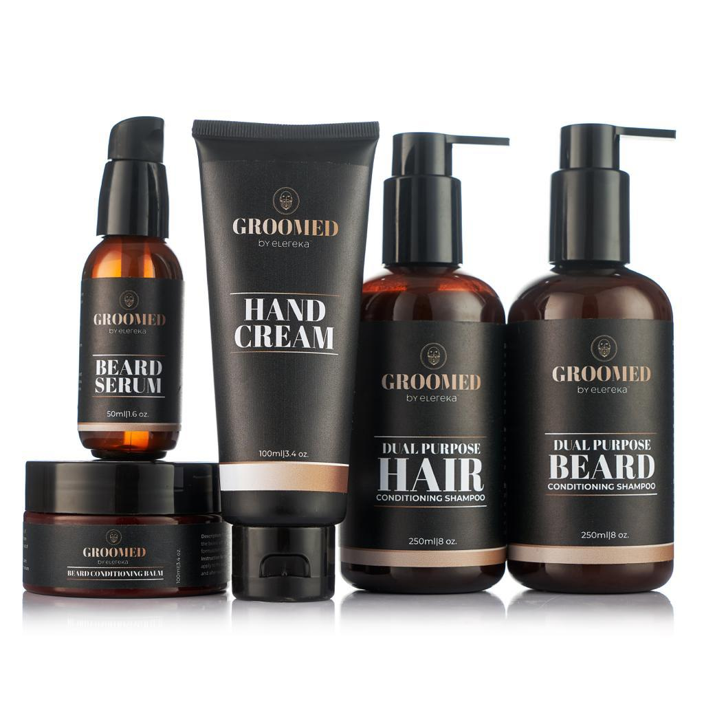 Groomed kit with hand cream