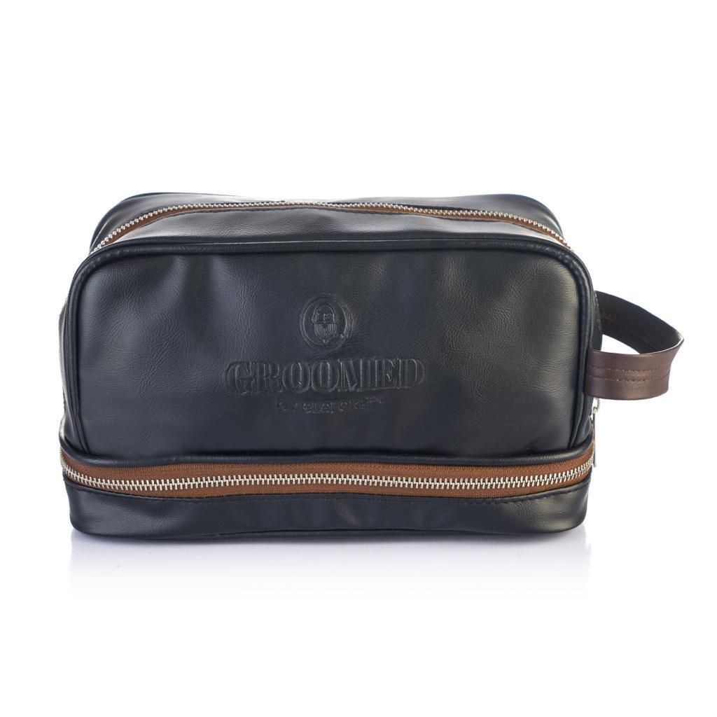 Black Groomed clipper bag