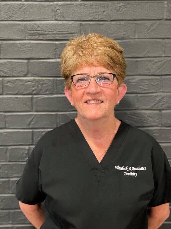 Wheelock and Associates Dentistry team member Sharon