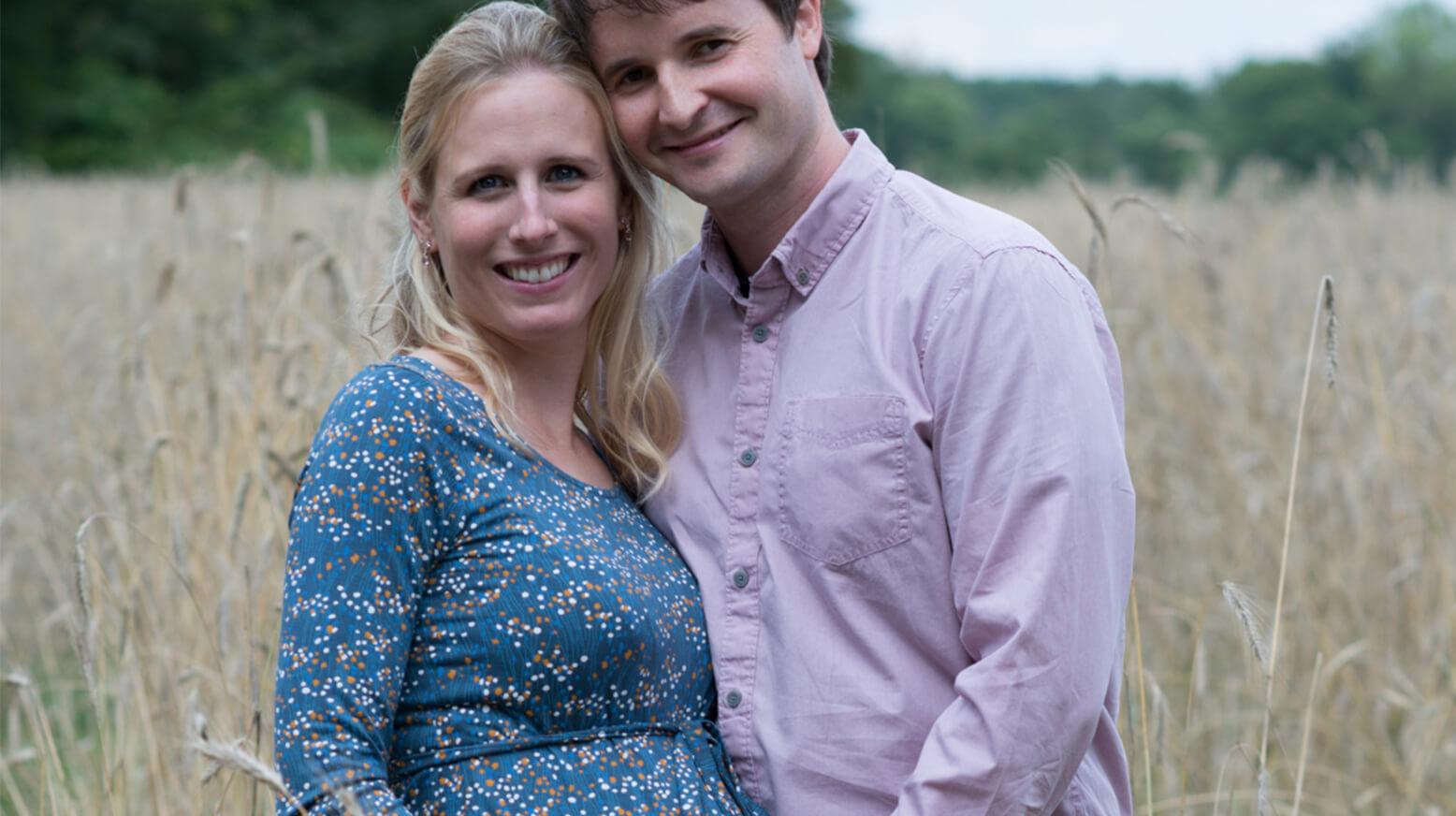 Oliver Korff mit seiner Frau