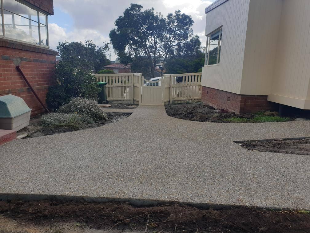 Con-Tek concrete pavement residential A after