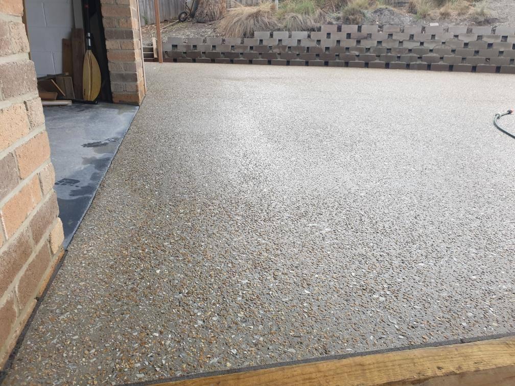 Con-Tek concrete pavement residential C After