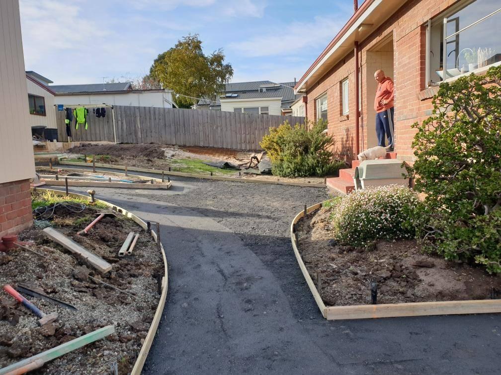 Con-Tek concrete pavement residential A before